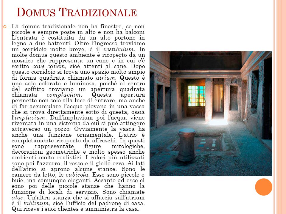 Domus Tradizionale