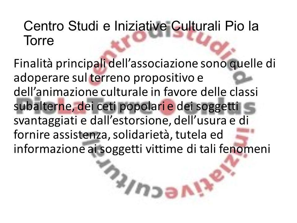 Centro Studi e Iniziative Culturali Pio la Torre