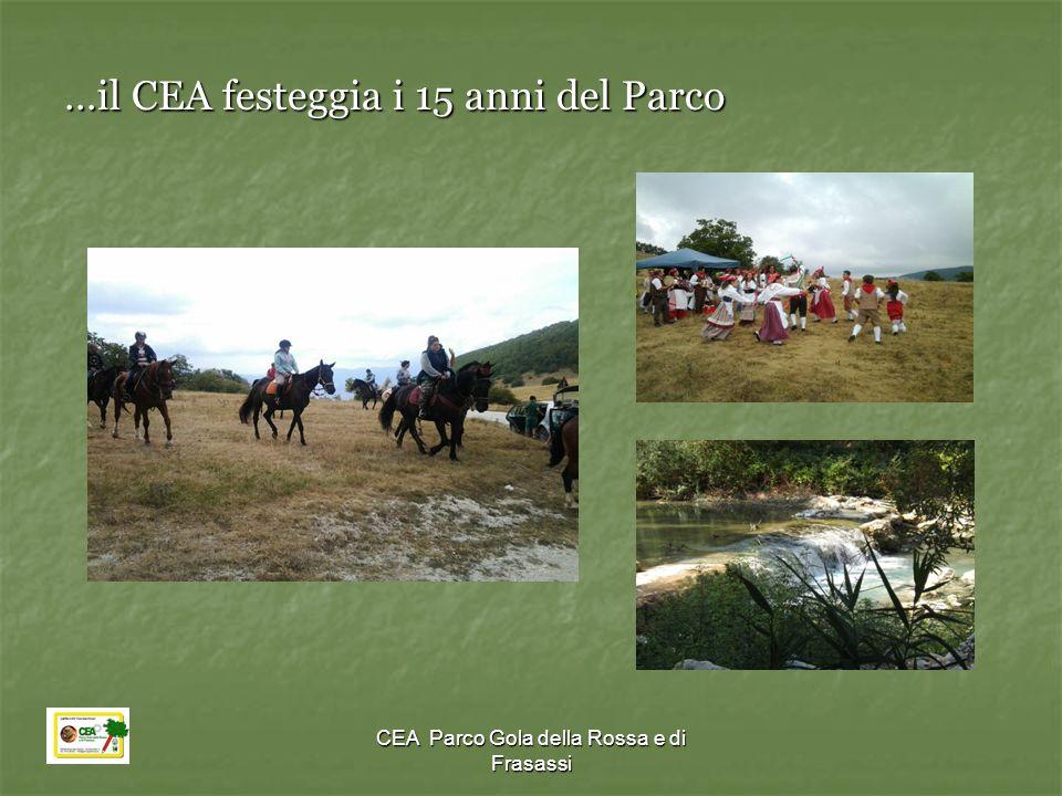…il CEA festeggia i 15 anni del Parco