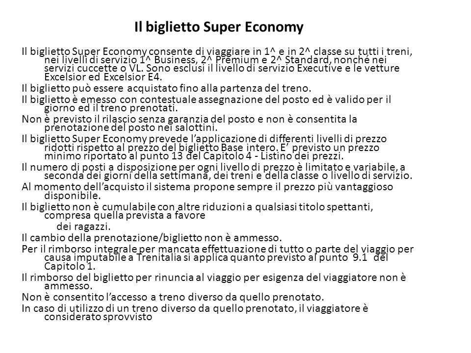 Il biglietto Super Economy