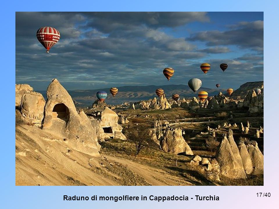 Raduno di mongolfiere in Cappadocia - Turchia