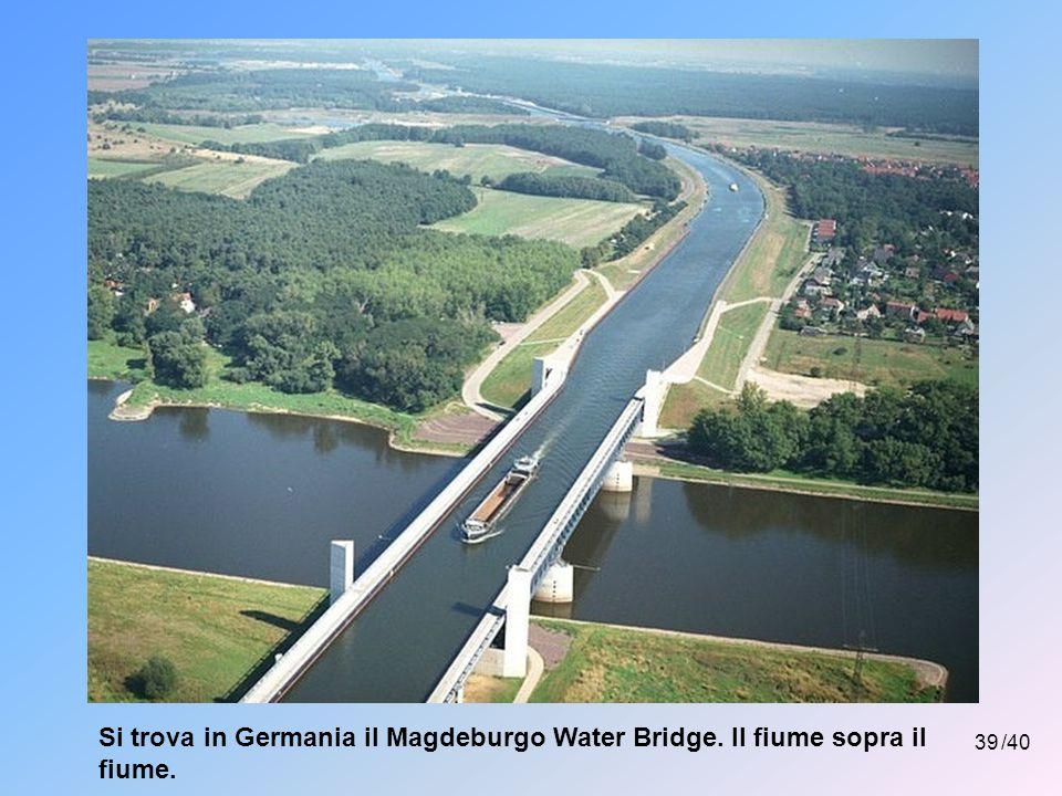 Si trova in Germania il Magdeburgo Water Bridge