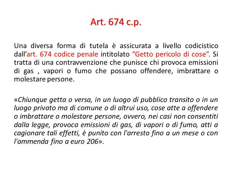 Art. 674 c.p.