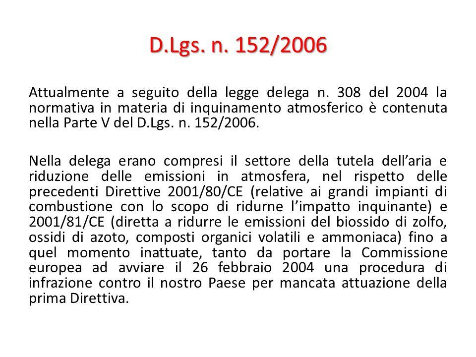 D.Lgs. n. 152/2006