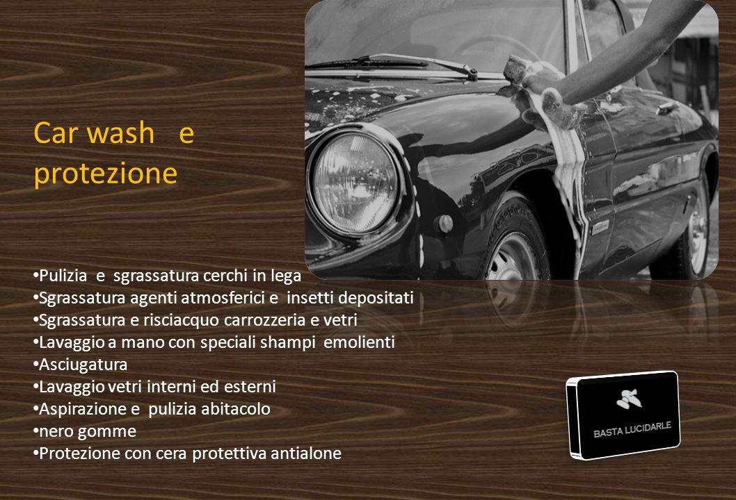 Car wash e protezione Pulizia e sgrassatura cerchi in lega