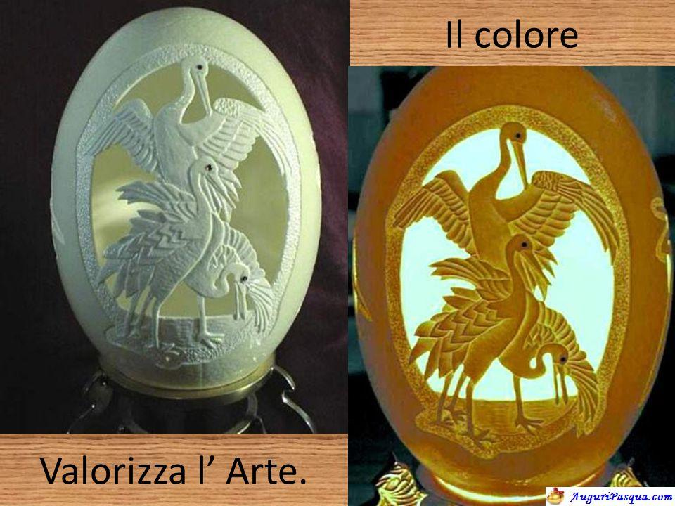 Il colore Valorizza l' Arte.