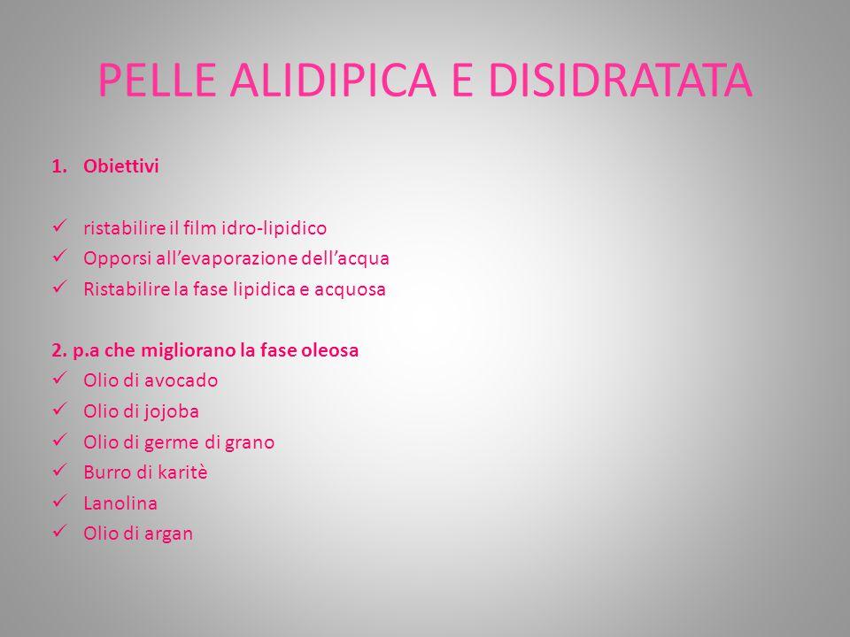 PELLE ALIDIPICA E DISIDRATATA