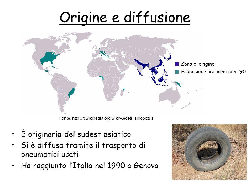 Origine e diffusione È originaria del sudest asiatico