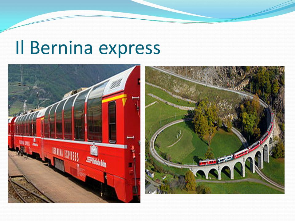 Il Bernina express