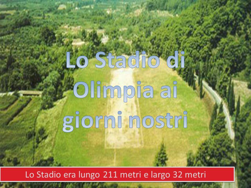 Lo Stadio di Olimpia ai giorni nostri