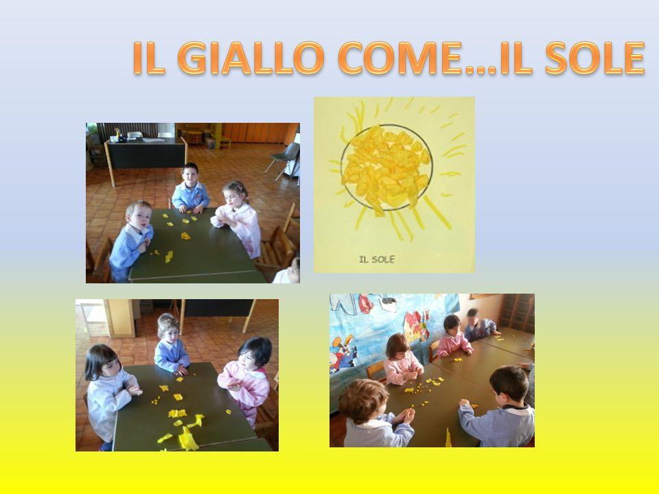 IL GIALLO COME…IL SOLE