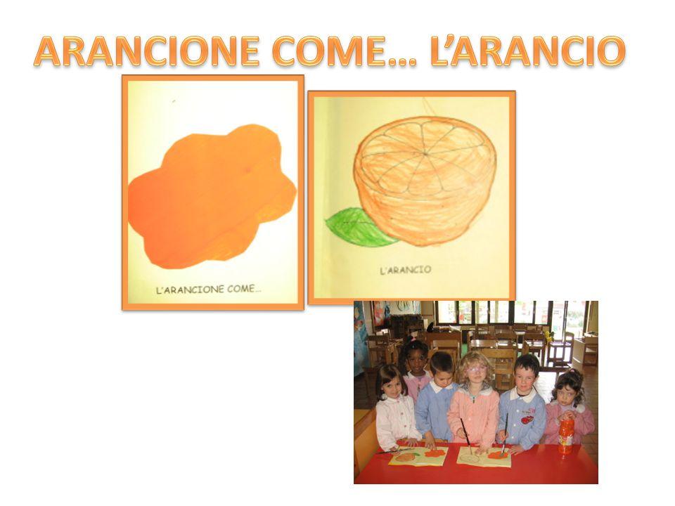 ARANCIONE COME… L'ARANCIO
