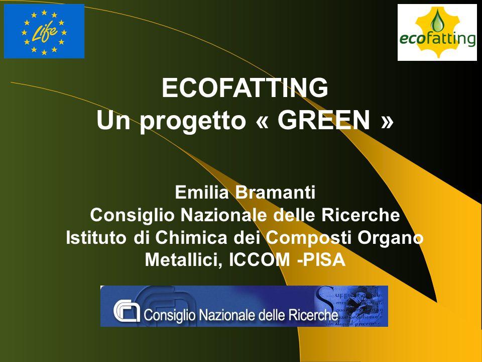 ECOFATTING Un progetto « GREEN »