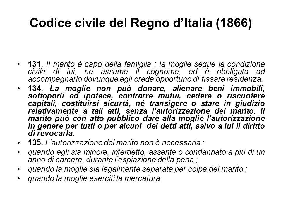 Codice civile del Regno d'Italia (1866)