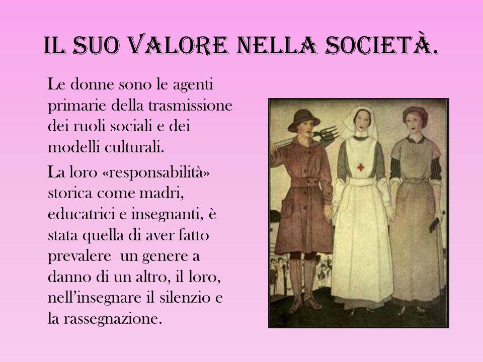 Il suo valore nella società.
