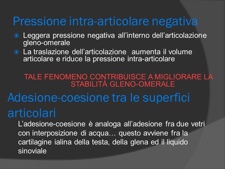 Pressione intra-articolare negativa