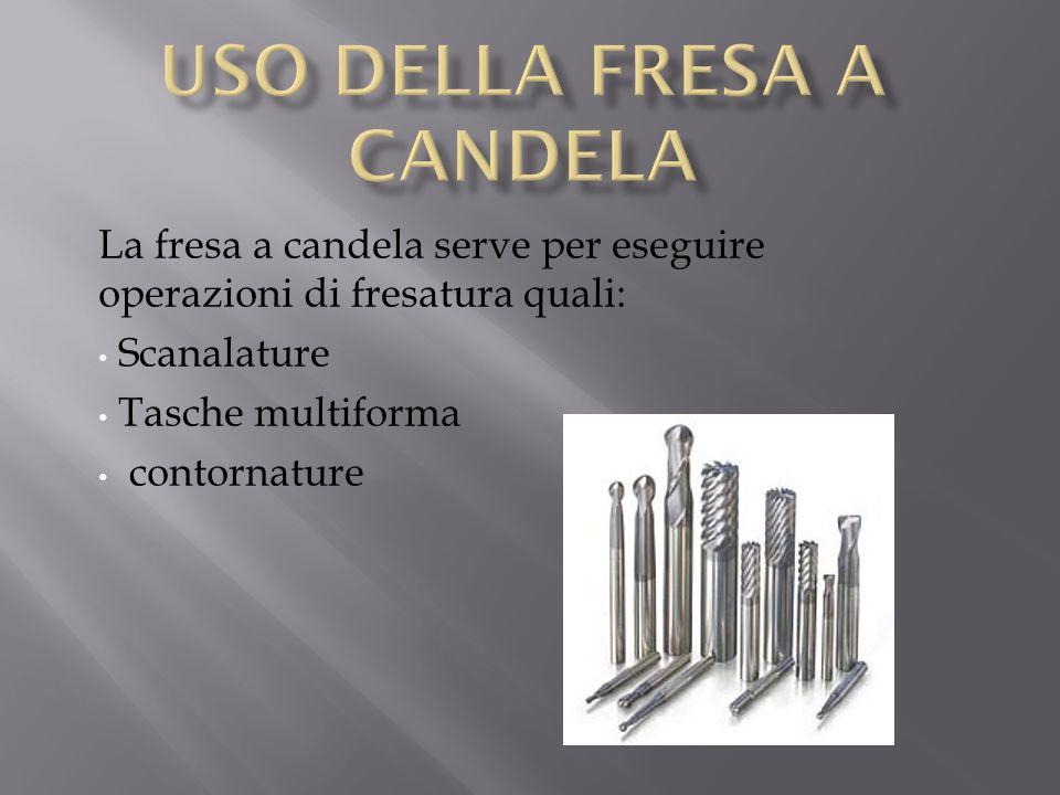 Uso della Fresa a Candela