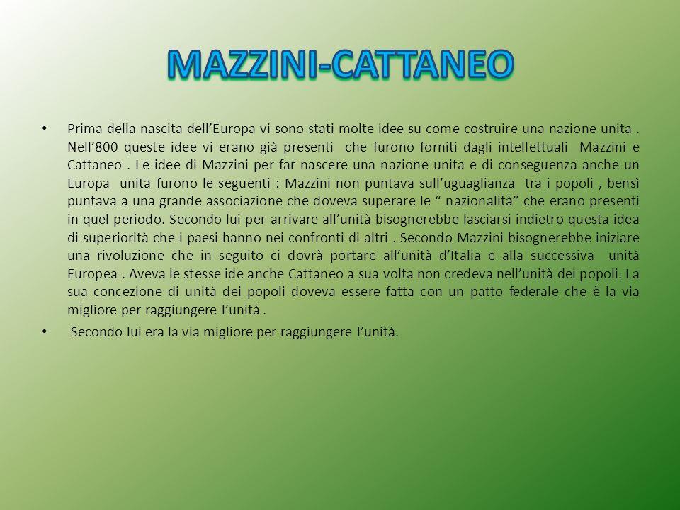 MAZZINI-CATTANEO