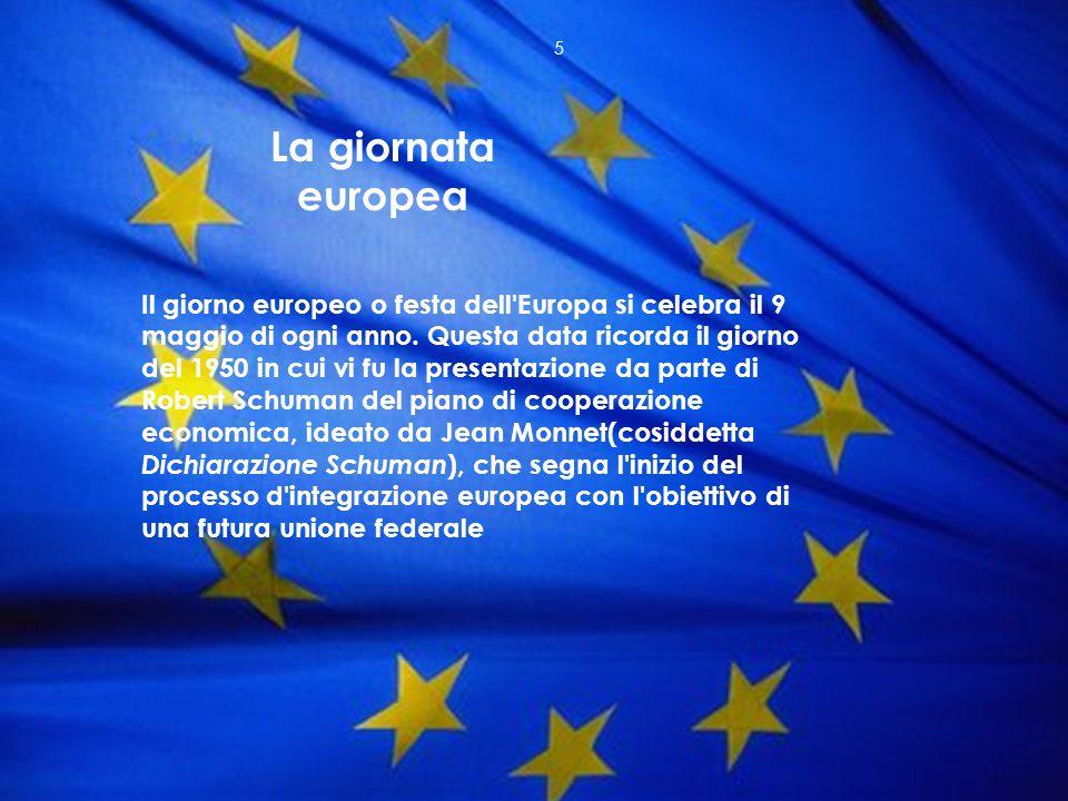 La giornata europea
