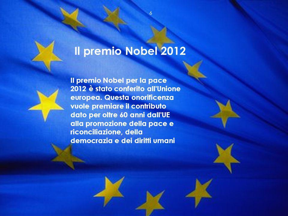 Il premio Nobel 2012