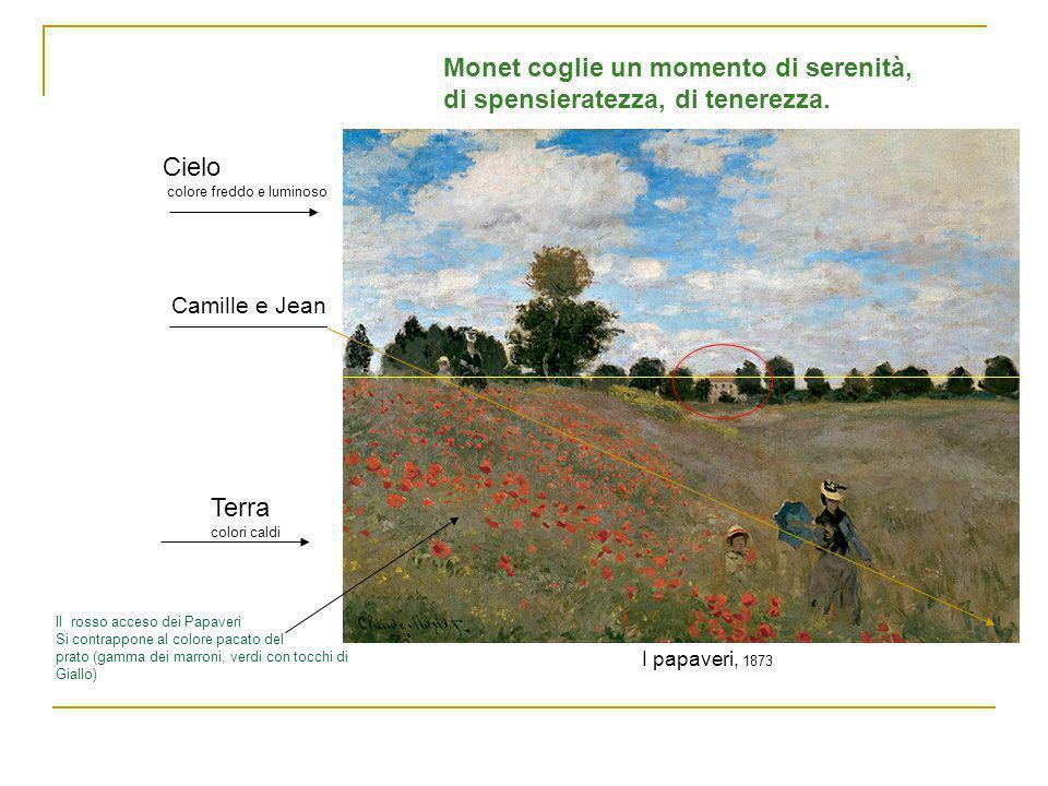 Monet coglie un momento di serenità, di spensieratezza, di tenerezza.
