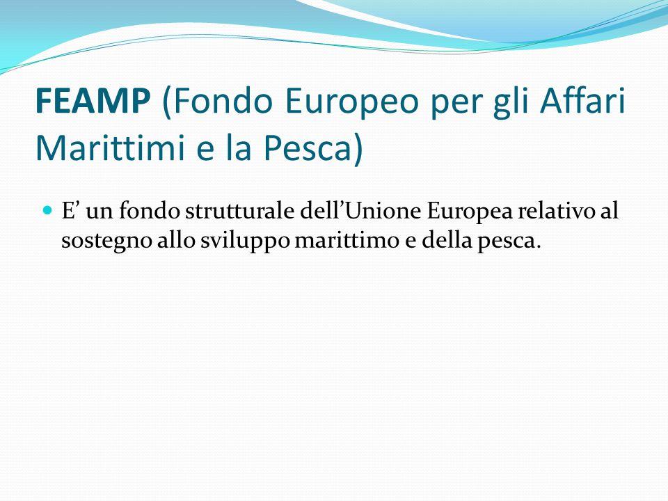FEAMP (Fondo Europeo per gli Affari Marittimi e la Pesca)