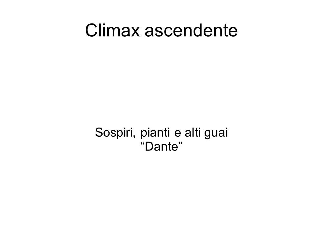 Sospiri, pianti e alti guai Dante
