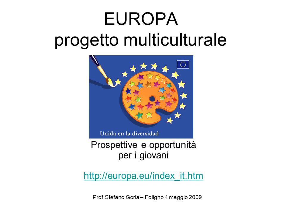 EUROPA progetto multiculturale