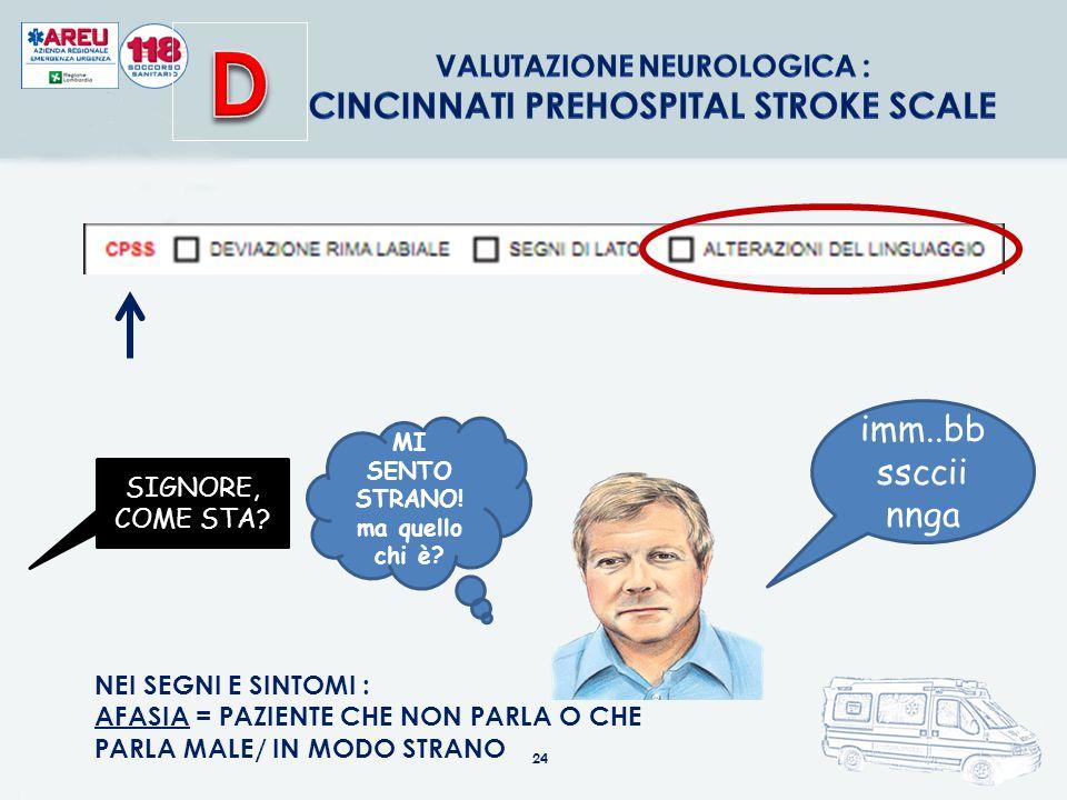 D Cincinnati Prehospital Stroke Scale imm..bbssccii nnga