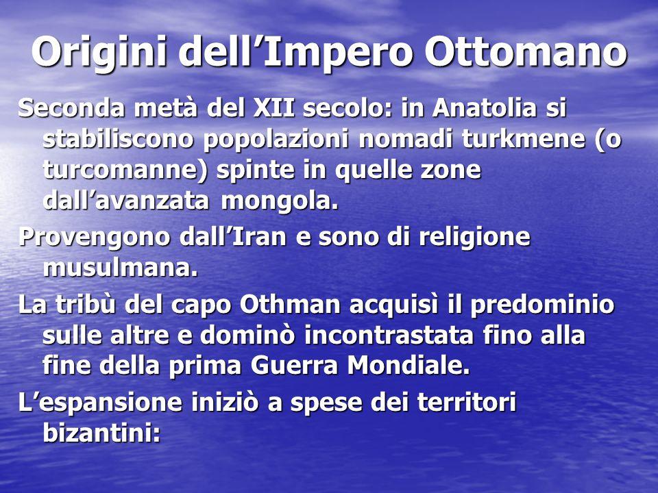 Origini dell'Impero Ottomano