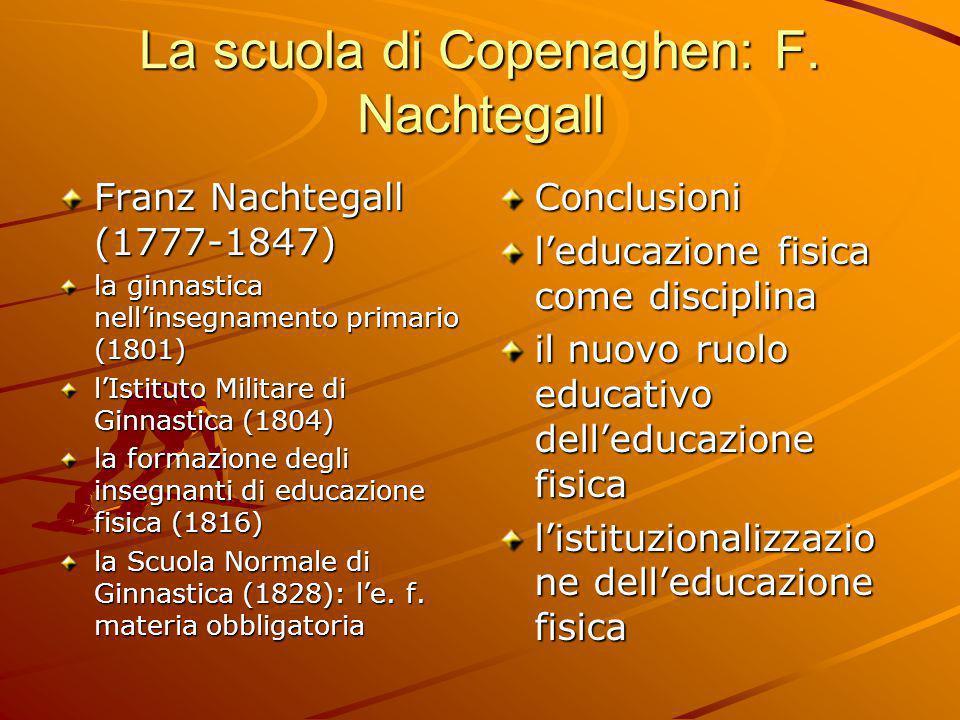 La scuola di Copenaghen: F. Nachtegall