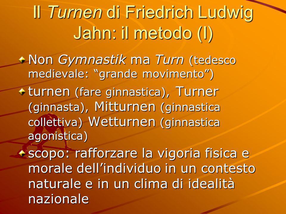 Il Turnen di Friedrich Ludwig Jahn: il metodo (I)
