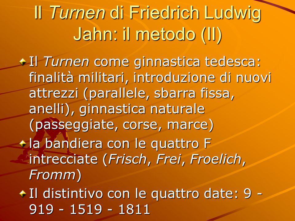 Il Turnen di Friedrich Ludwig Jahn: il metodo (II)