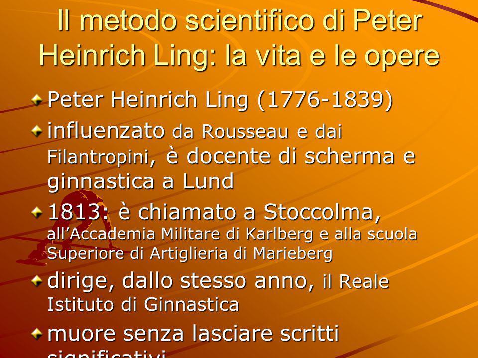 Il metodo scientifico di Peter Heinrich Ling: la vita e le opere