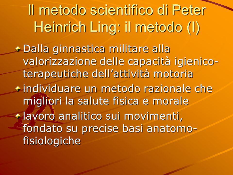 Il metodo scientifico di Peter Heinrich Ling: il metodo (I)