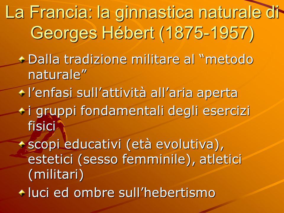 La Francia: la ginnastica naturale di Georges Hébert (1875-1957)