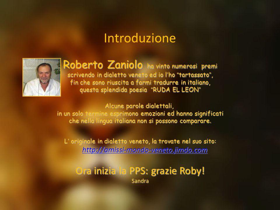 Introduzione Roberto Zaniolo ha vinto numerosi premi