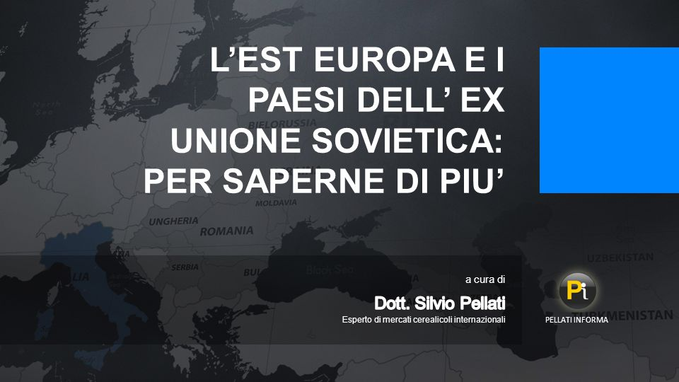 L'EST EUROPA E I PAESI DELL' EX UNIONE SOVIETICA: PER SAPERNE DI PIU'
