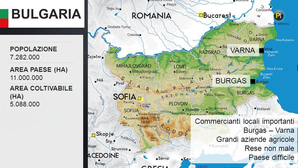 BULGARIA VARNA BURGAS Commercianti locali importanti Burgas – Varna
