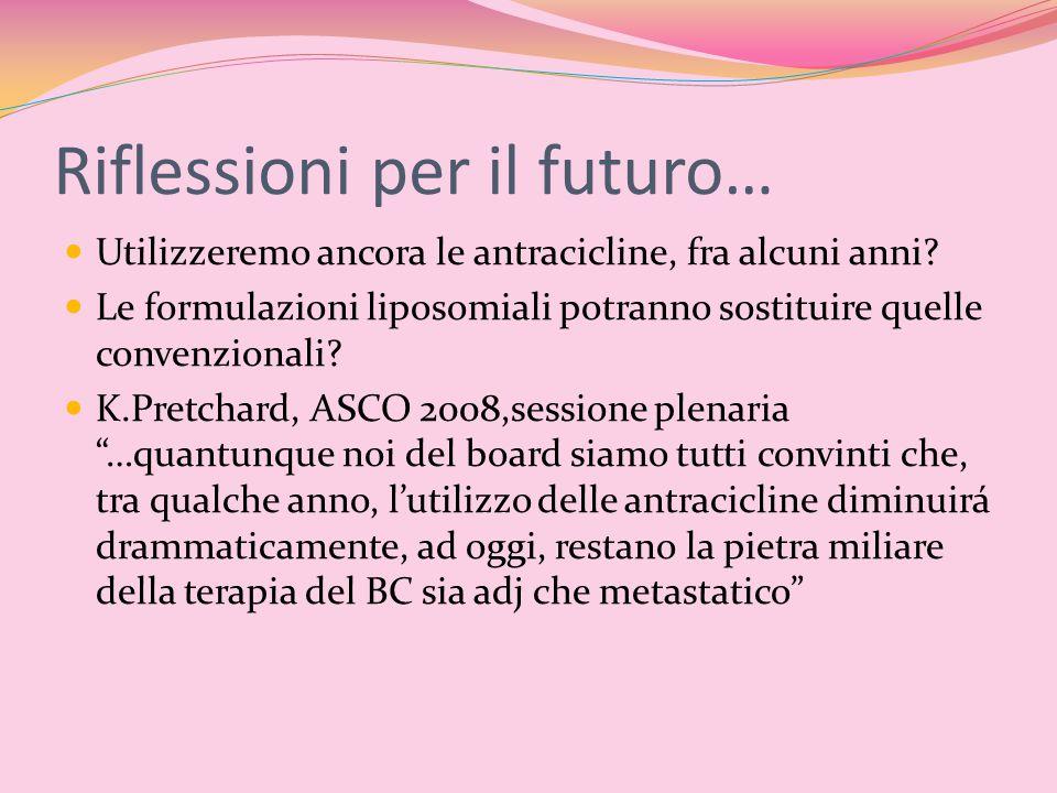 Riflessioni per il futuro…
