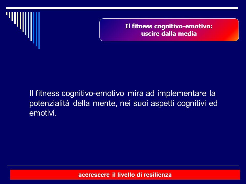 Il fitness cognitivo-emotivo: accrescere il livello di resilienza
