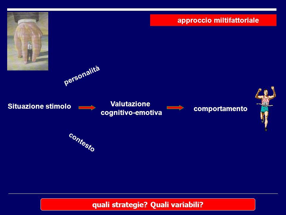 approccio miltifattoriale quali strategie Quali variabili