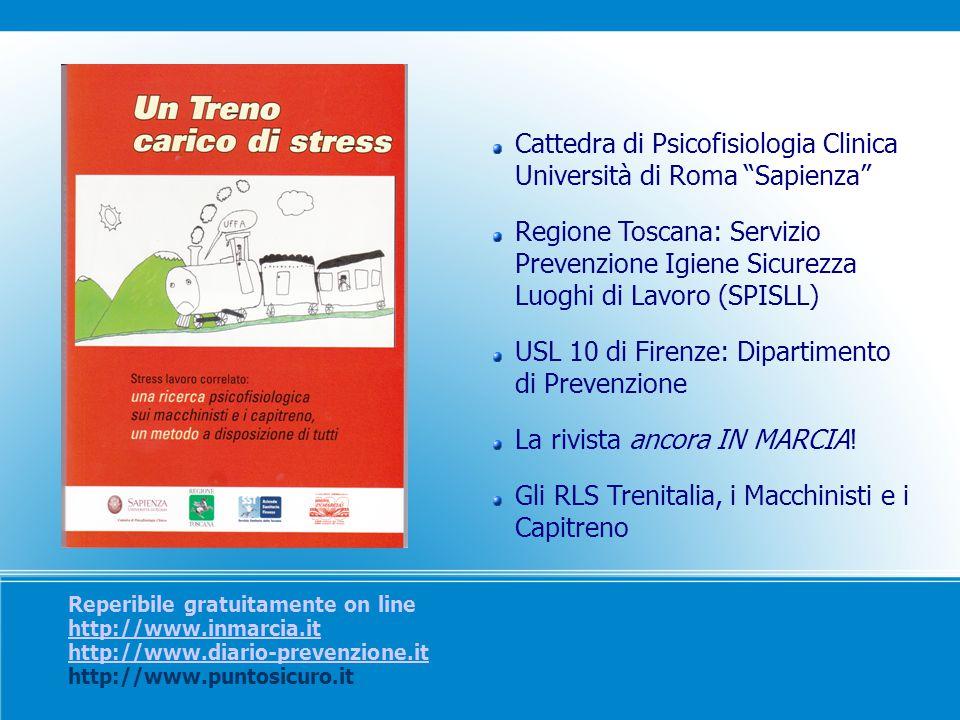 Cattedra di Psicofisiologia Clinica Università di Roma Sapienza