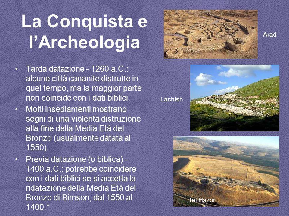 La Conquista e l'Archeologia