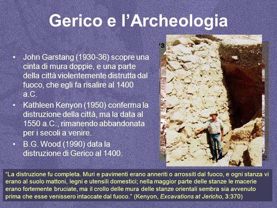 Gerico e l'Archeologia