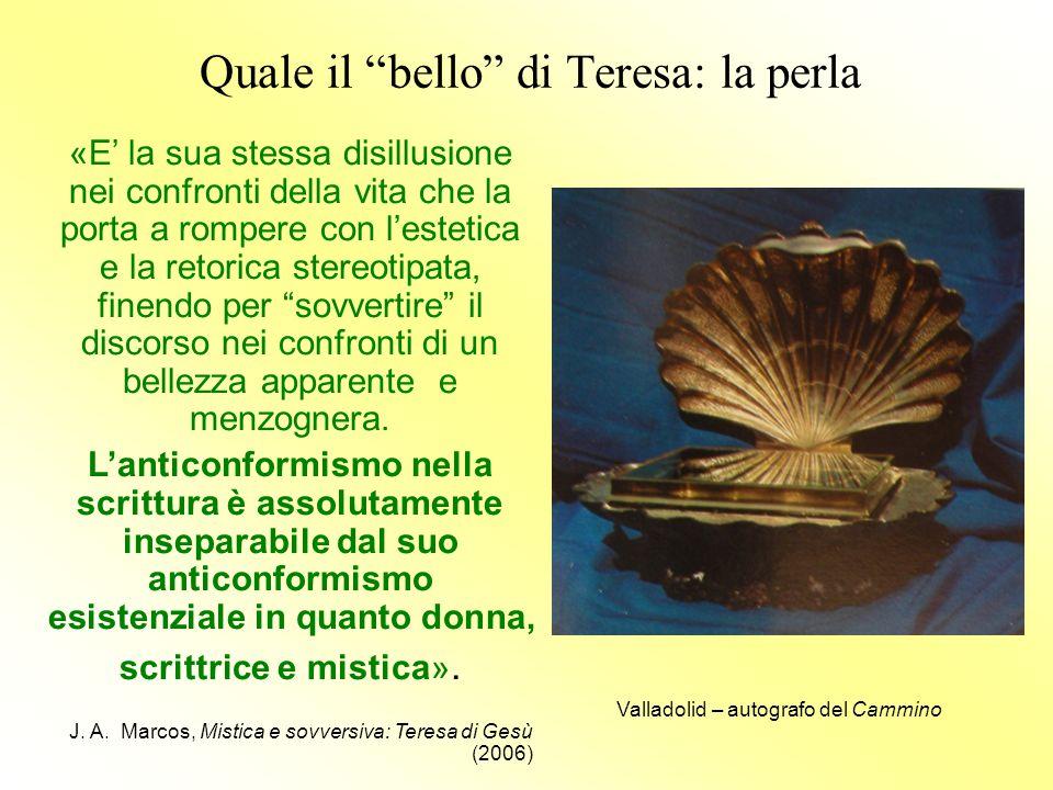 Quale il bello di Teresa: la perla