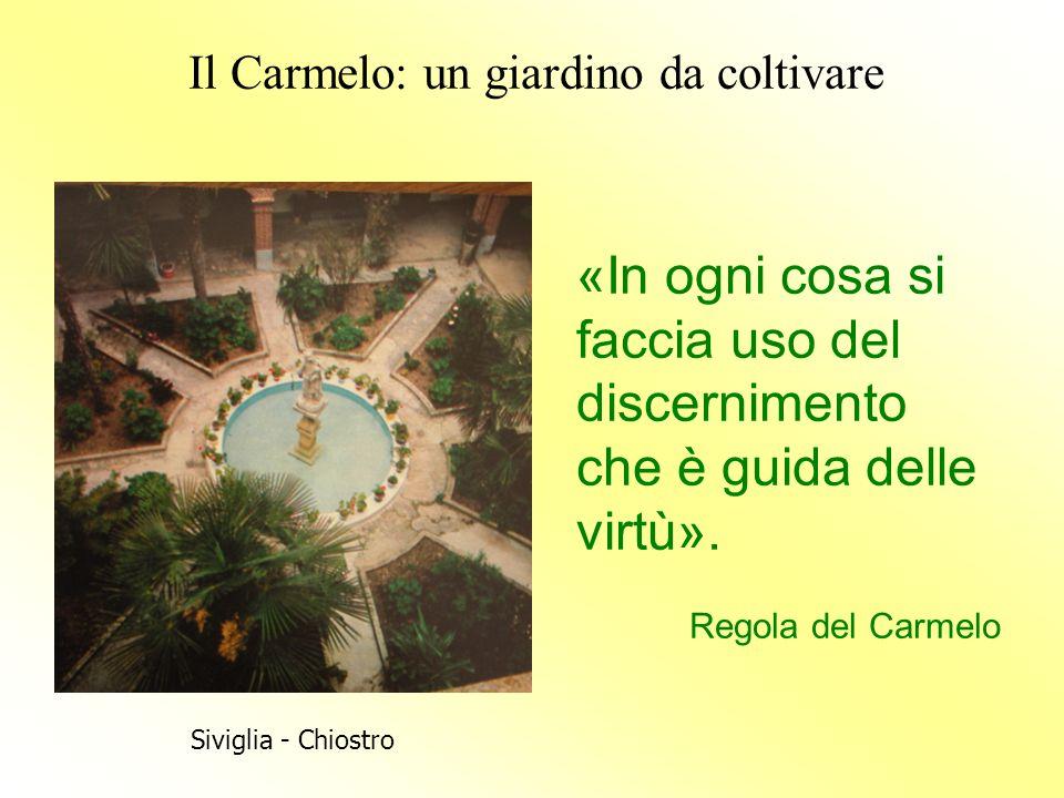 Il Carmelo: un giardino da coltivare