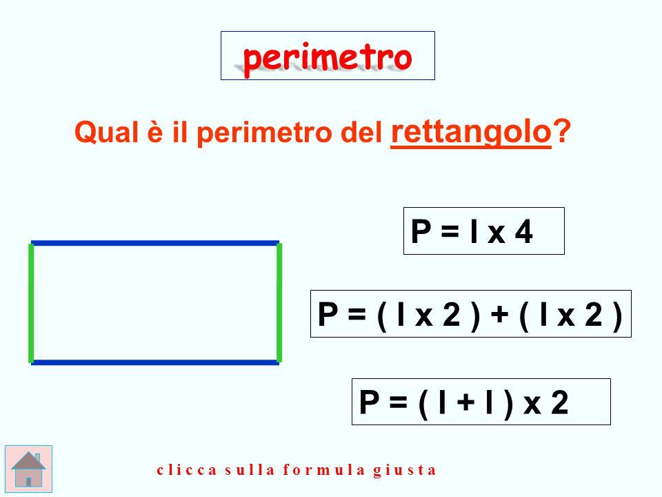 Qual è il perimetro del rettangolo