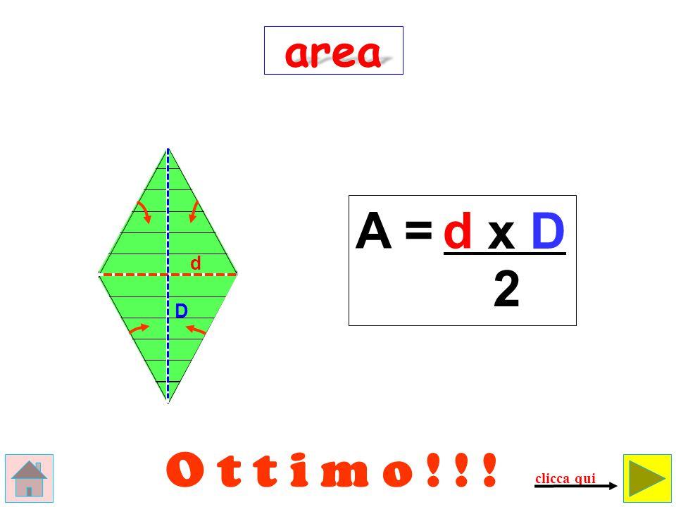 area A = d x D d 2 D O t t i m o ! ! ! clicca qui