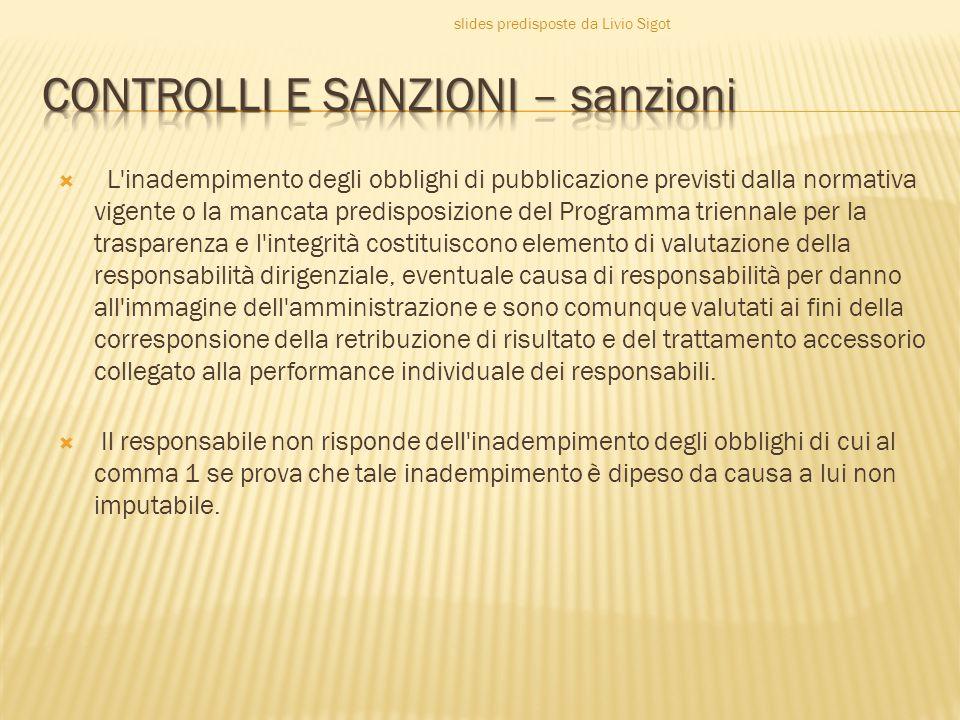 CONTROLLI E SANZIONI – sanzioni